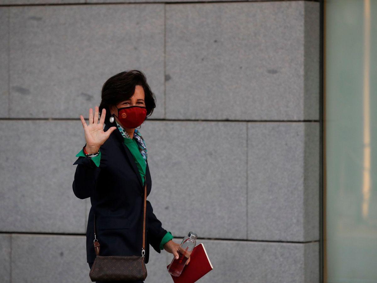 Foto: Ana Botín, presidenta de Santander, en la Audiencia Nacional. (EFE)