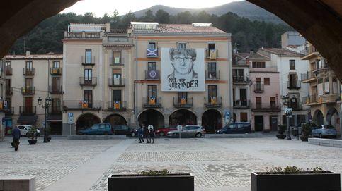 ¿Y cómo anda por allí la política? Amer, el pueblo de Puigdemont, ante el 14-F