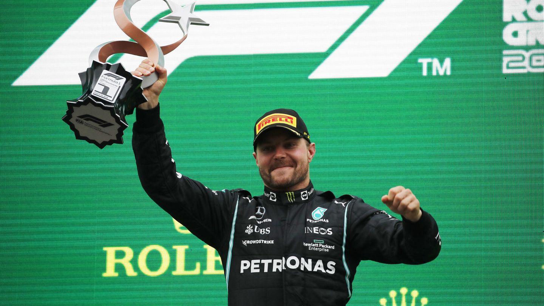 Bottas ha igualado en Turquía el dudoso récord de Arnoux. (Reuters)