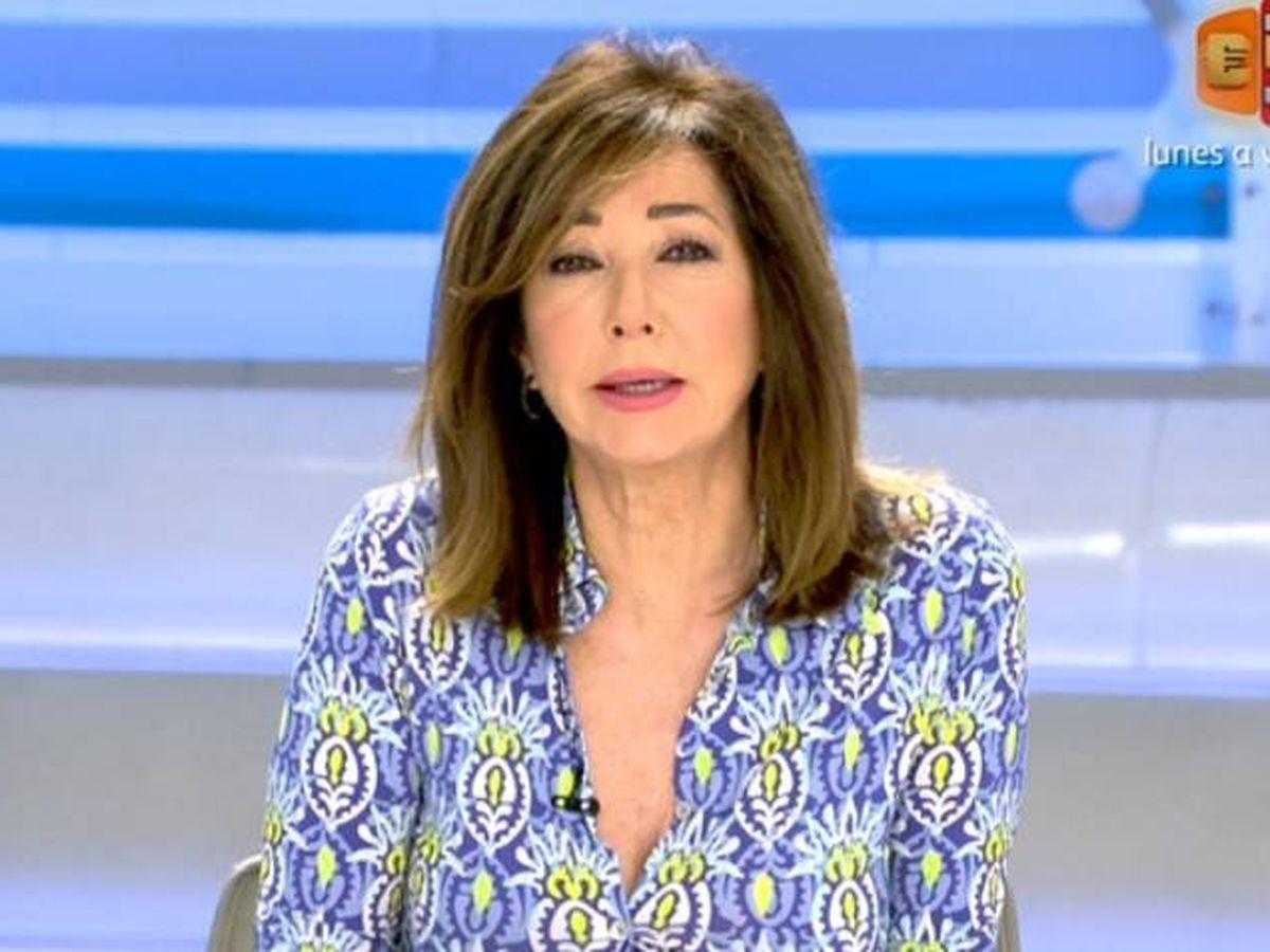 Foto: Ana Rosa, criticando a Unidas Podemos. (Telecinco).