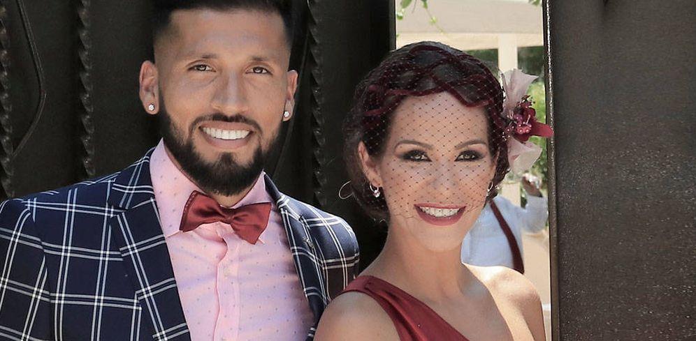 Foto: Tamara Gorro y su marido, Ezequiel Garay. (Vanitatis)
