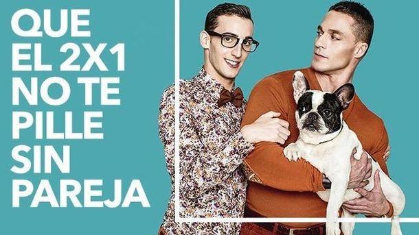 Foto: La campaña del grupo Vips contra la que recoge firmas Hazte Oír. (EC)