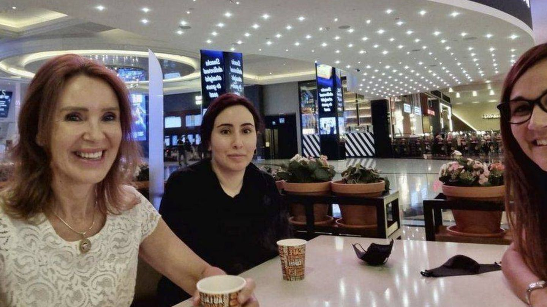 La princesa Latifa, el pasado mayo en un centro comercial. (Redes)