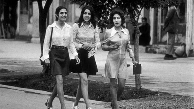 Mujeres en Kabul en 1970. (Laurence Brun)
