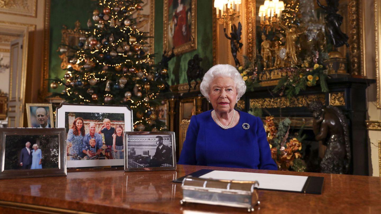 El mensaje navideño de la reina en 2019. (EFE)