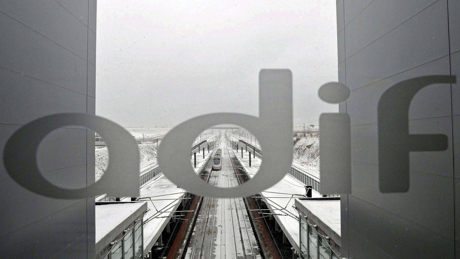Foto: Imagen de archivo de la estación de alta velocidad Segovia-Guiomar. (EFE)