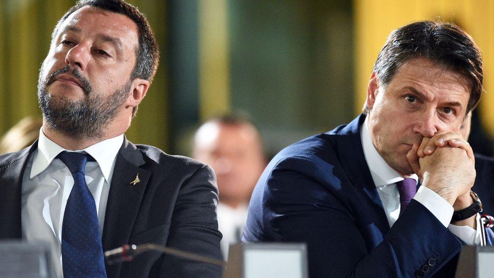 Foto: Salvini y Conte, en una imagen de archivo. (Reuters)