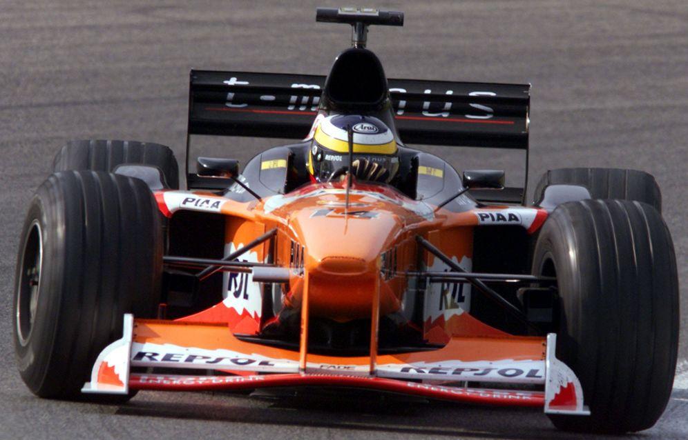 Foto: Pedro de la Rosa al volante de su Arrows en 1999. (Action Images)