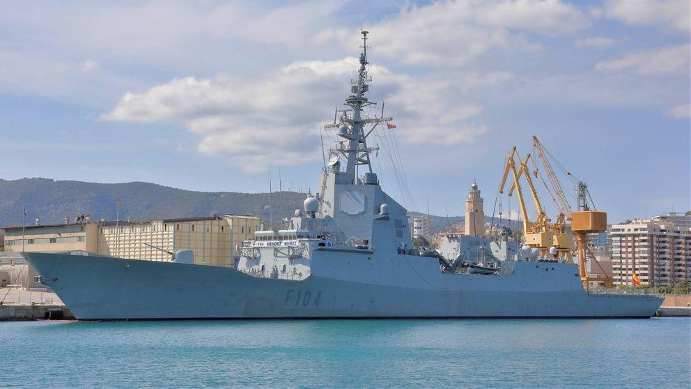 España retira la fragata Méndez Nuñez del grupo de combate de EEUU