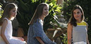 Post de Todos los detalles de los looks de Letizia, Leonor y Sofía en Marivent