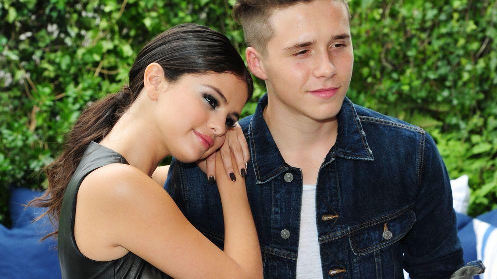 Brooklyn Beckham por fin agarra a Selena