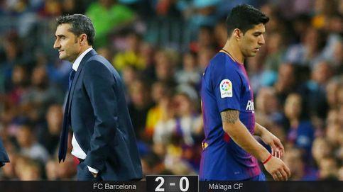 El Barça no pierde el ritmo, el mismo que Suárez no encuentra por ningún sitio