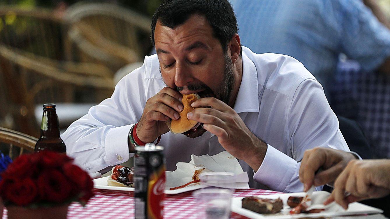 Foto: Se acabaron las hamburguesas en Goldsmiths.  EFE RICCARDO ANTIMIANI