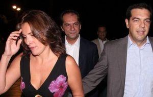 Betty Tsipras, el gran amor del nuevo primer ministro de Grecia