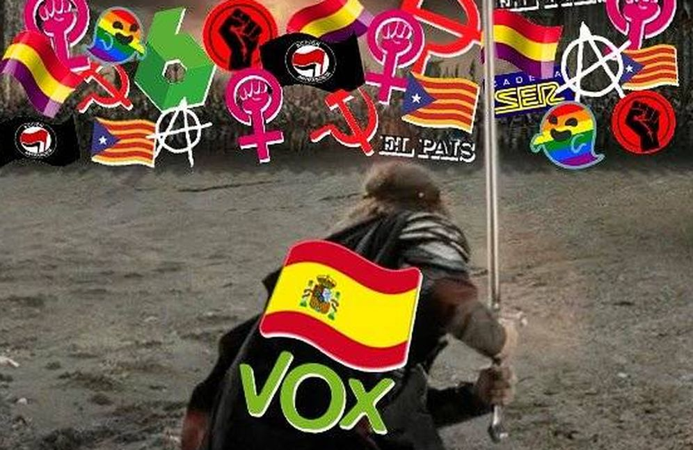 Foto: Tuit de Vox el día de las elecciones generales