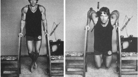 Los ejercicios propuestos por Arnold Schwarzenegger para realizar en casa