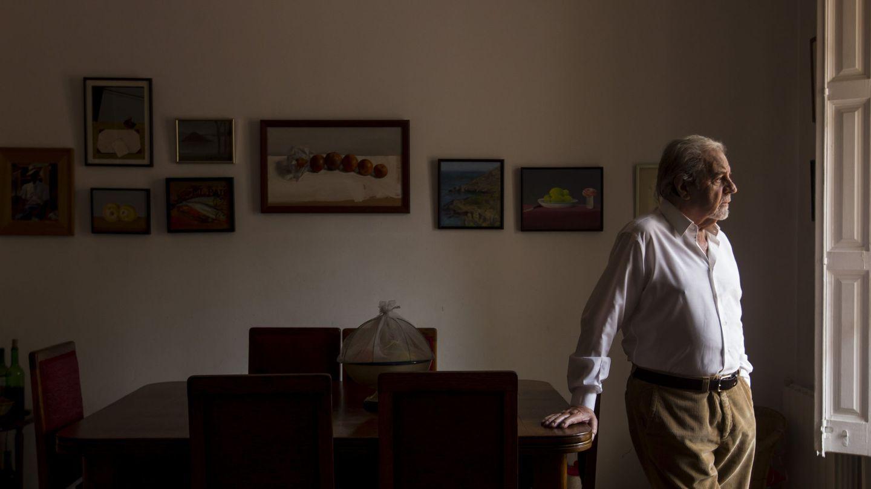 Juan Marsé en su casa de Barcelona. (EFE/Quique García)