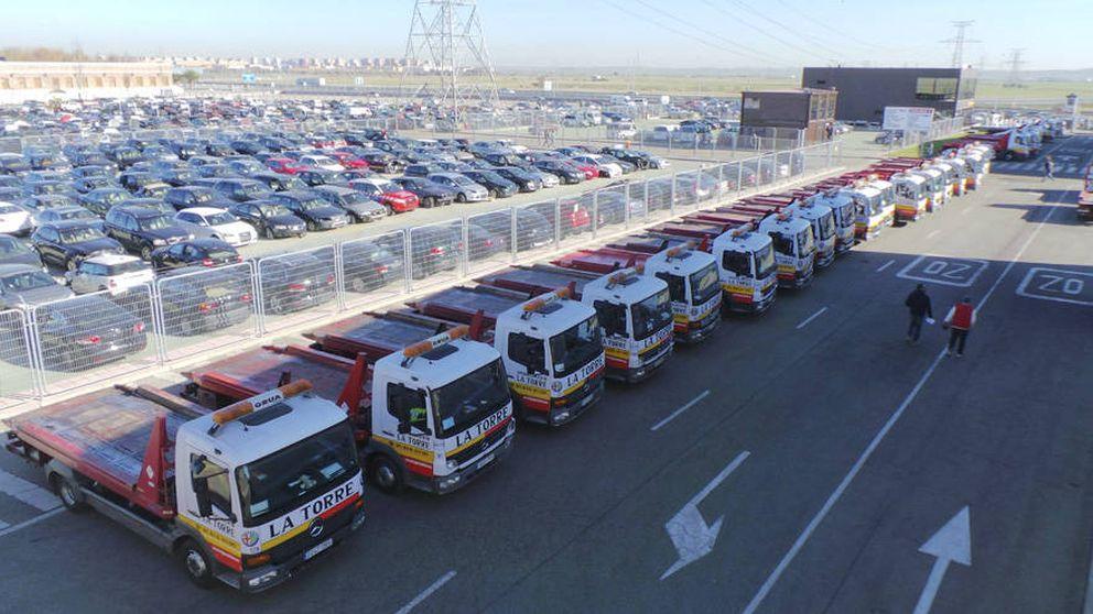 Hacienda requisa la caja y coches de lujo de Desguaces La Torre porque debe 8 M