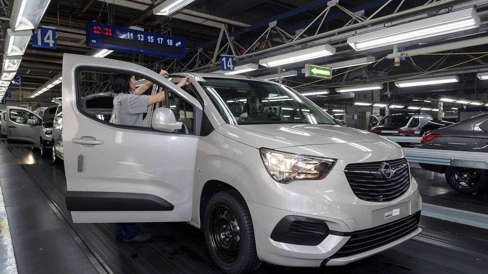 Foto: En Vigo se fabrica la tercera variante del comercial ligero de PSA, el Opel Combo desde finales de 2018.