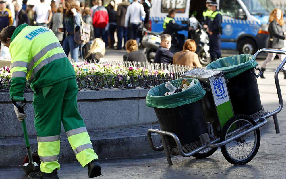 Foto: Trabajadores del servicio de limpieza municipal