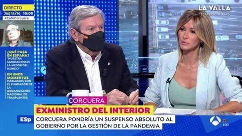 Susanna Griso se sincera sobre el susto de Corcuera y lo que sucedió después