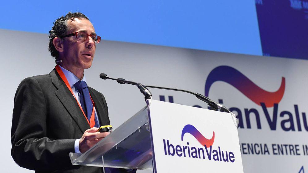 Foto:  Álvaro Guzmán de Lázaro, socio fundador y CEO de Azvalor, en el Iberian Value de este año.