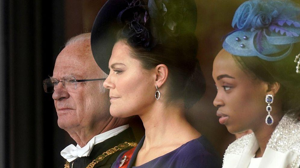 Foto: El rey Carlos Gustavo y la princesa Victoria. (Reuters)