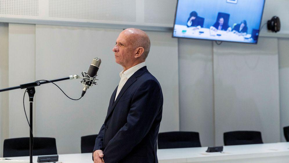 Foto: Hugo Carvajal, exjefe de la Inteligencia de Venezuela, compareció en la Audiencia Nacional el 12 se septiembre. (Reuters)