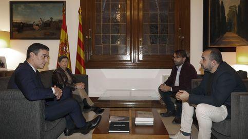 Satisfacción de los agentes sociales tras la reunión con Pedro Sánchez en Barcelona