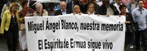 Ermua recuerda el secuestro de Miguel Ángel Blanco