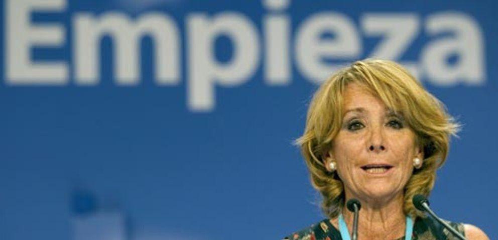 Esperanza Aguirre ha sacado 740 millones de las arcas