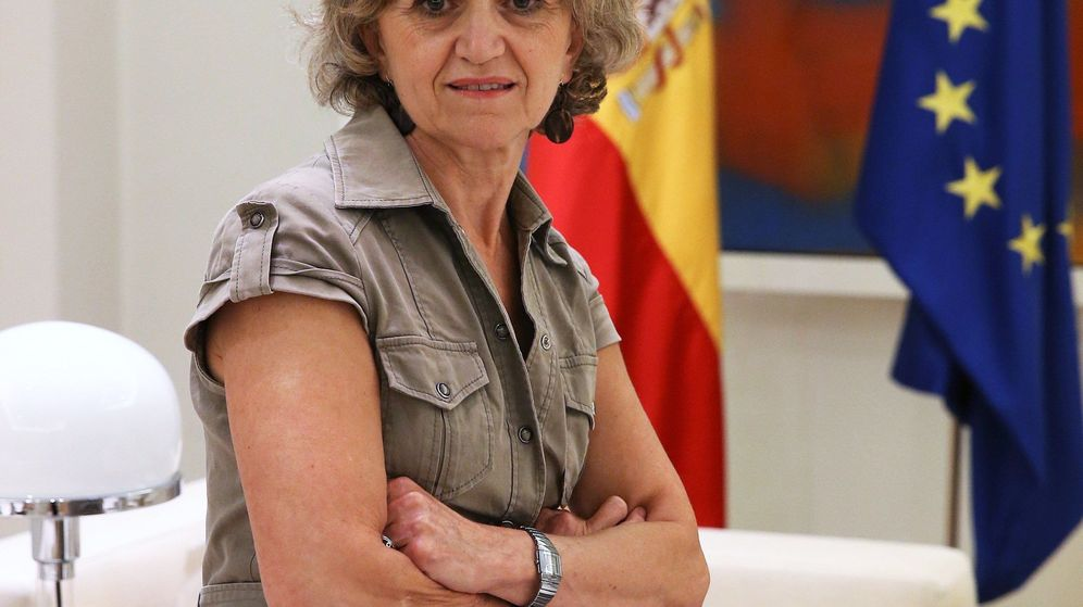 Foto: María Luisa Carcedo, nueva ministra de Sanidad. (EFE)