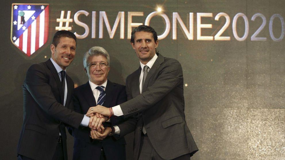 Simeone y su extraña renovación por dos años menos para irse del Atleti