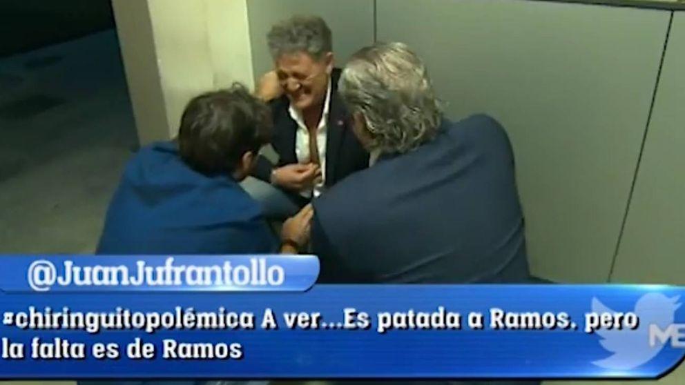 Susto en 'El Chiringuito': Rafa abandona el plató por un fuerte dolor en el pecho