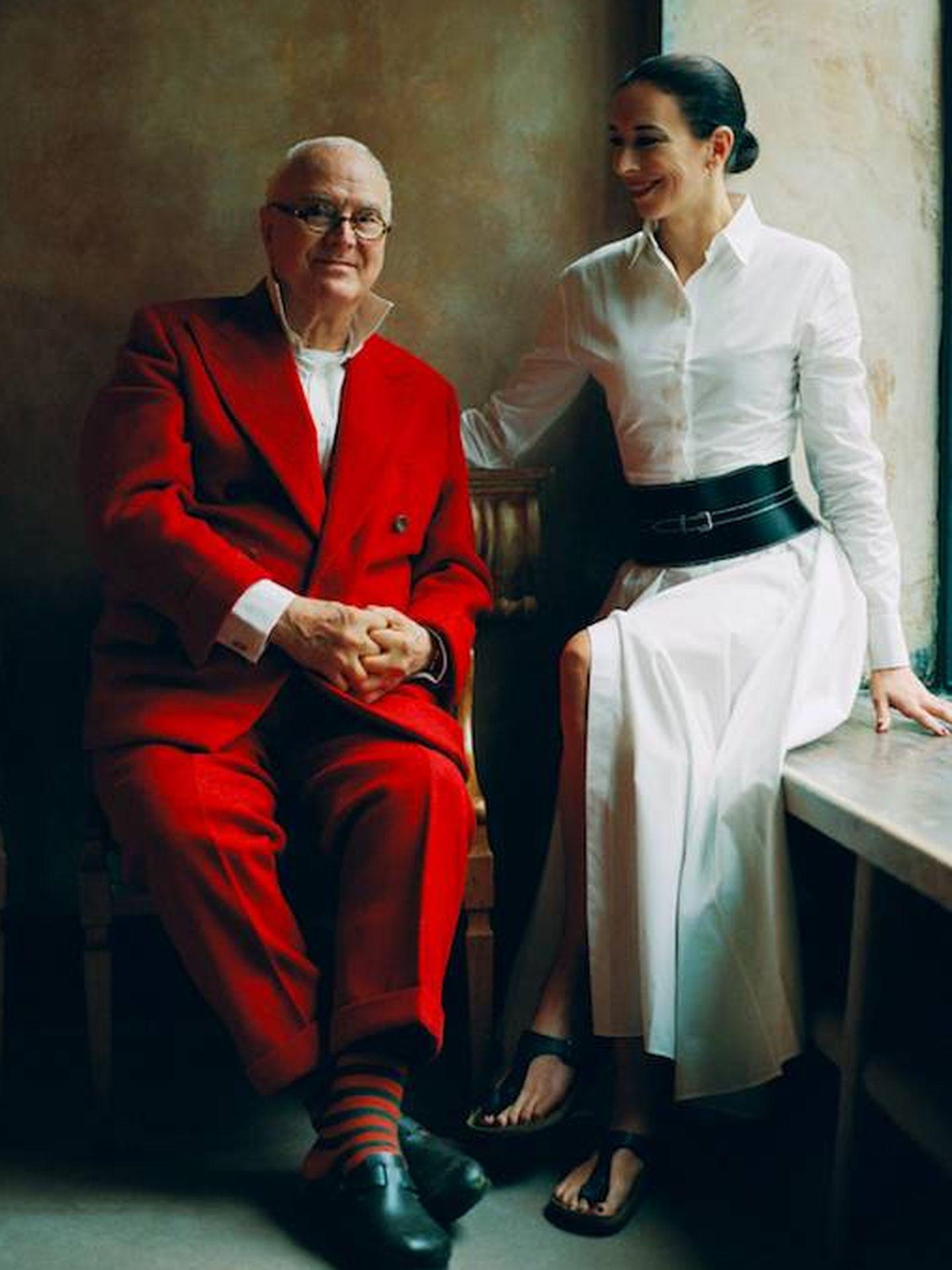 Manolo y Kristina Blahnik. (Cortesía Birkenstock)