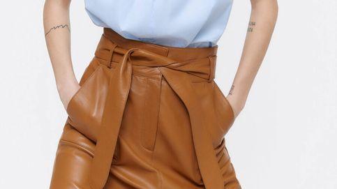Empieza a ahorrar: con esta falda de Uterqüe parecerá que usas una talla menos