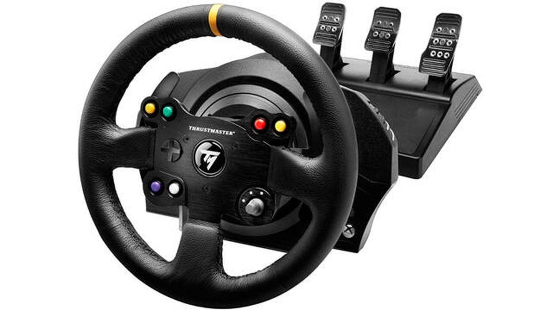Volante para consola Thrustmaster TX Racing Wheel Leather Edition
