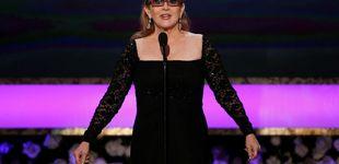 Post de Carrie Fisher descansa en una urna con forma de pastilla de Prozac