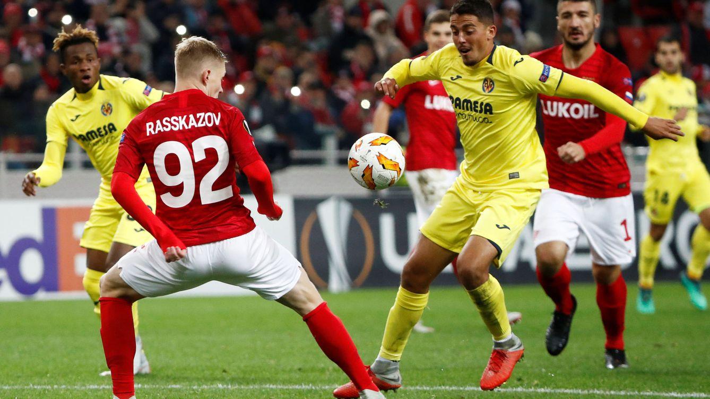 Villarreal - Spartak de Moscú: horario y dónde ver en TV y 'online' la Europa League