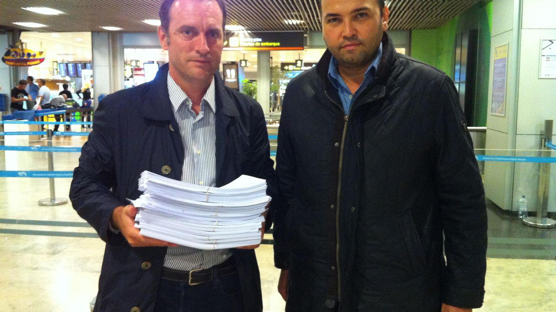 Daniel Portero y Miguel Ángel Rodríguez Arias, de Dignidad y Justicia. (EC)