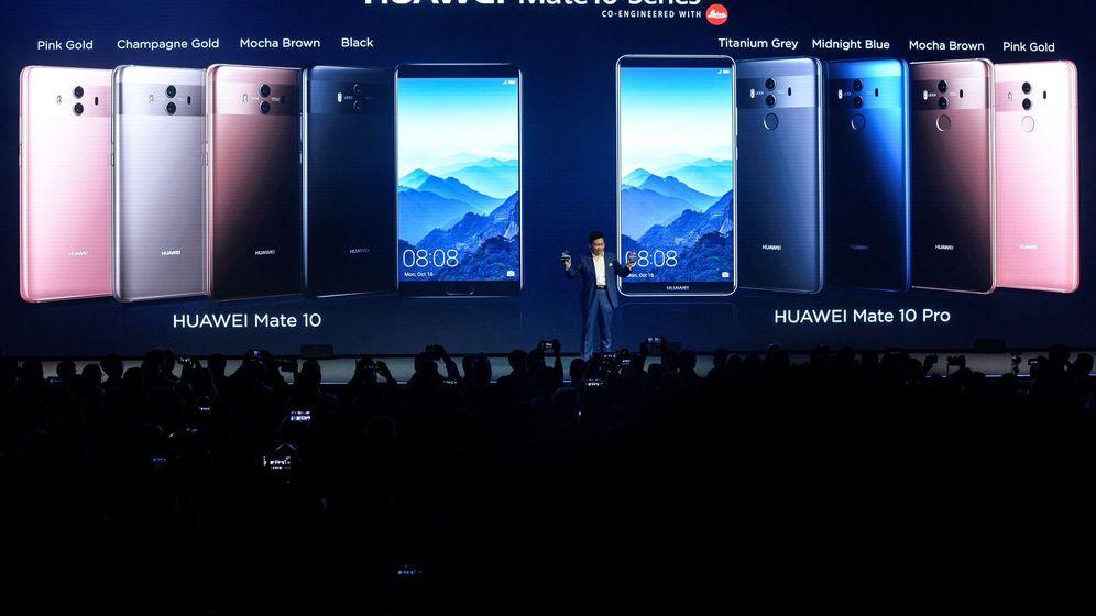 Foto: Huawei lanza el mate 10 pro (Foto: EFE)