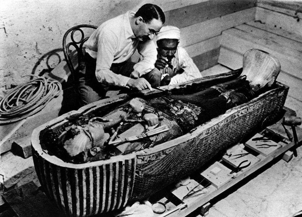 Foto: Descubrimiento de la tumba de Tutankhamon