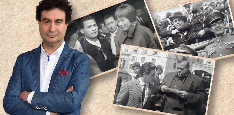 Foto: Pepe Rodríguez e imágenes realizadas por su padre en un fotomontaje de Vanitatis.