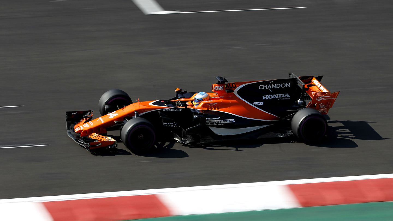 McLaren mostró su rechazo a la aleta de tiburón. (EFE)
