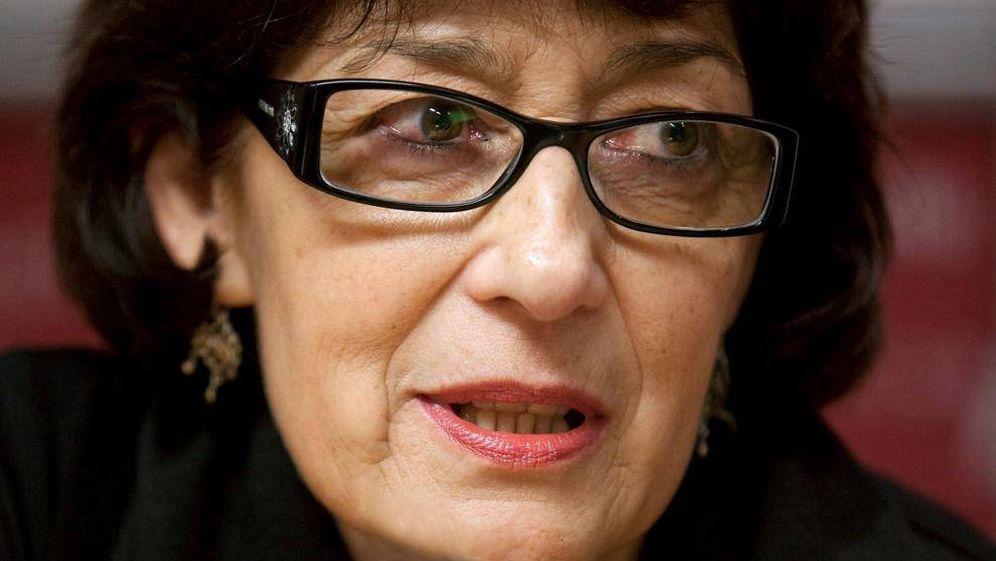 Foto: La escritora asturiana, Olvido García Valdés, directora general del Libro y Fomento de la Lectura. (EFE)