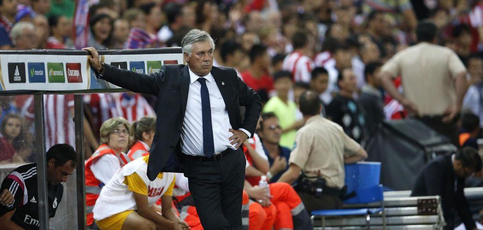 Foto: Carlo Ancelotti sufrió una derrota en el Vicente Calderón que marcó su carrera (Reuters)