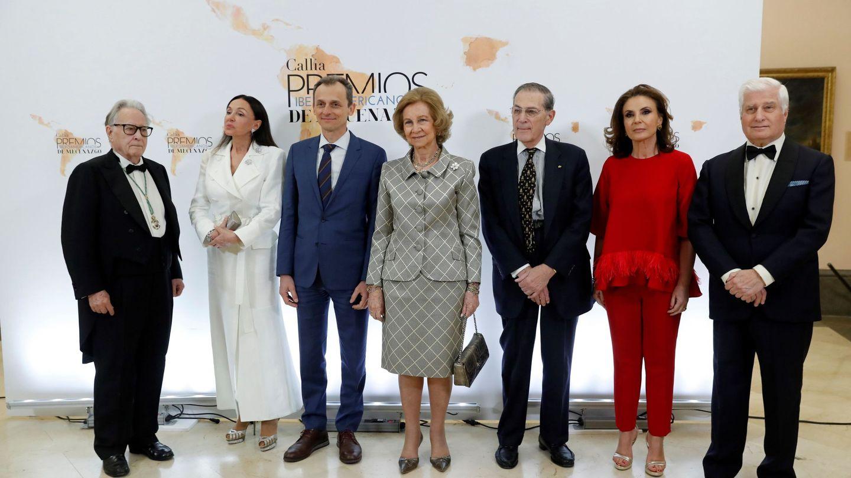 La reina Sofía, en los Premios Iberoamericanos de Mecenazgo. (EFE)
