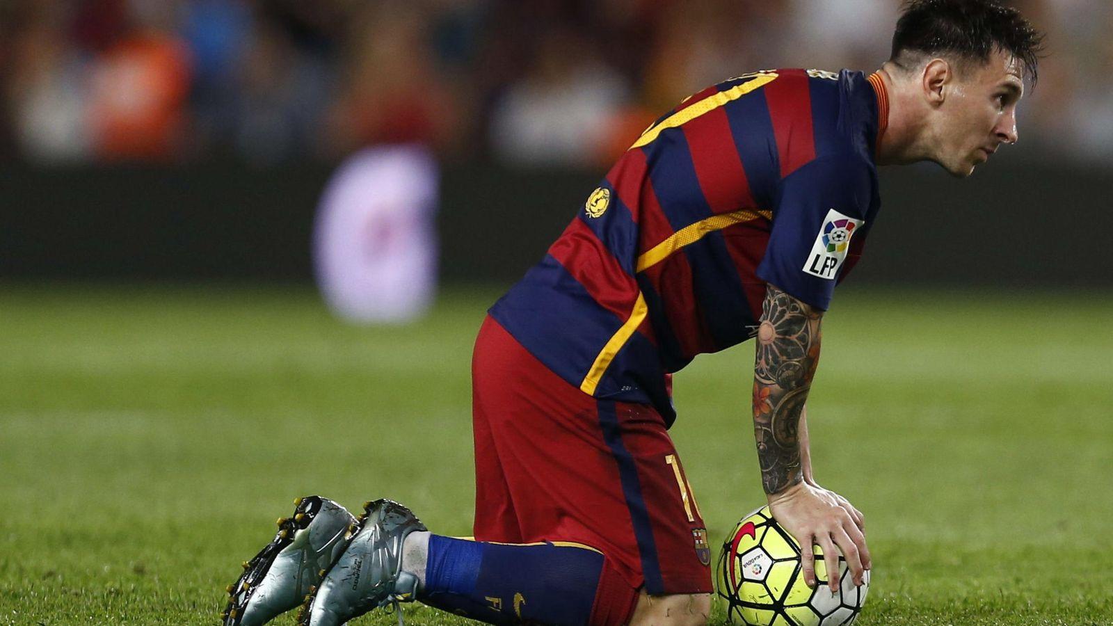 Foto: El delantero argentino del FC Barcelona Leo Messi durante un partido de Ligo. (Efe)
