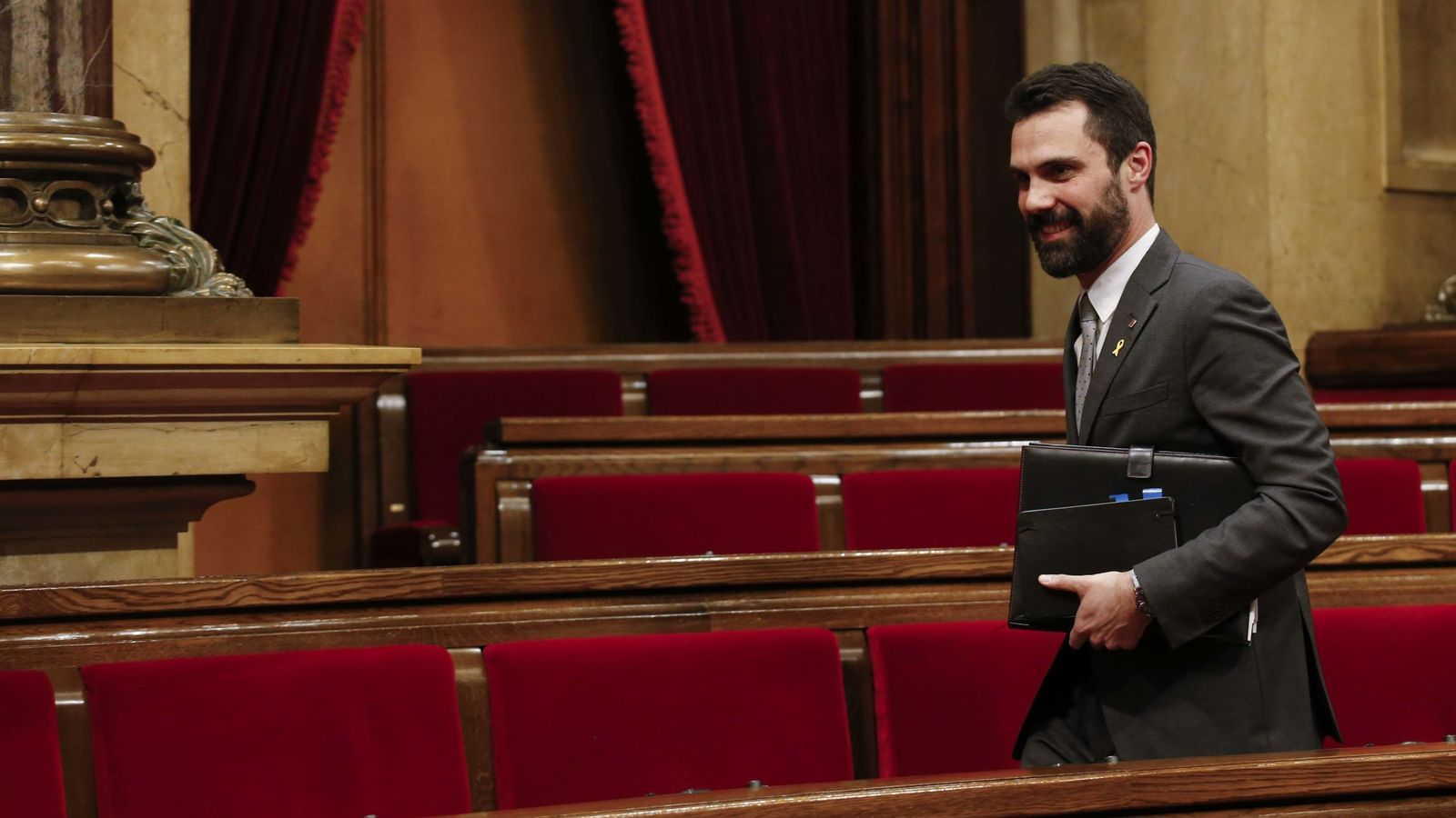 Foto: El presidente del Parlament, Roger Torrent. (Reuters)