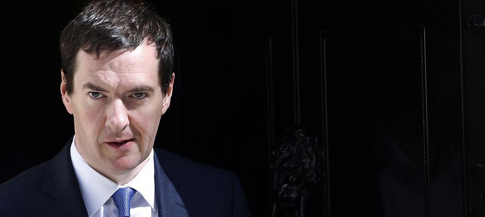 Foto: El ministro británico de Economía, George Osborne, en Londres (Reuters)